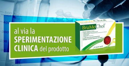 Al via la sperimentazione clinica del prodotto BruMeChol